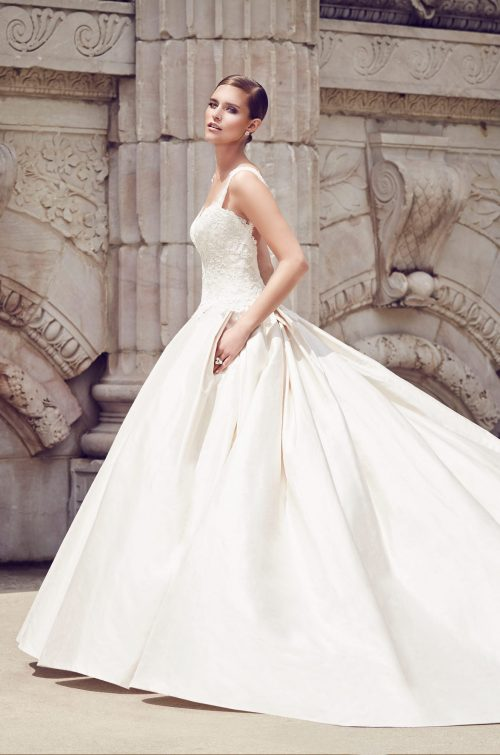 Silk Princess Wedding Dress - Style #4560 | Paloma Blanca