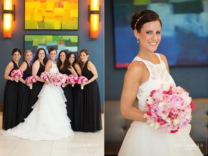 11-10 4 Paloma Blanca wedding dress Style 4510 orchid bouquet