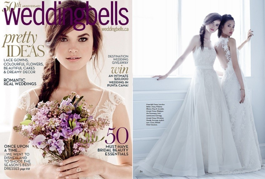 9-15-15 Paloma As Featured - Weddingbells