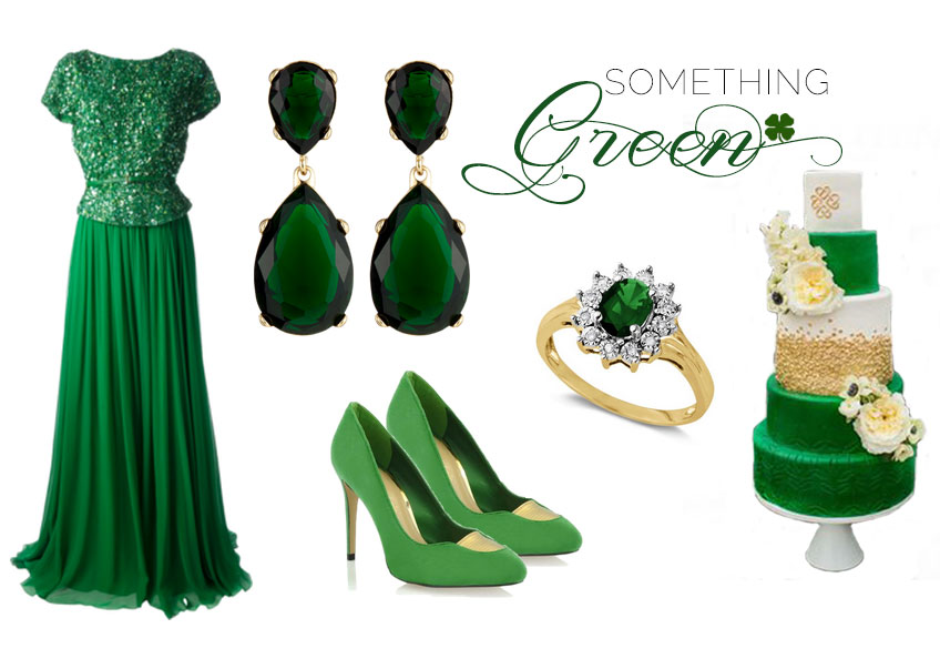 Paloma Blanca Style: Something Green