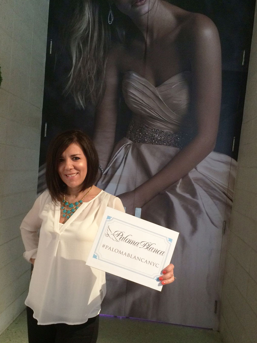 Paloma Blanca Attends: The Knot Couture Show