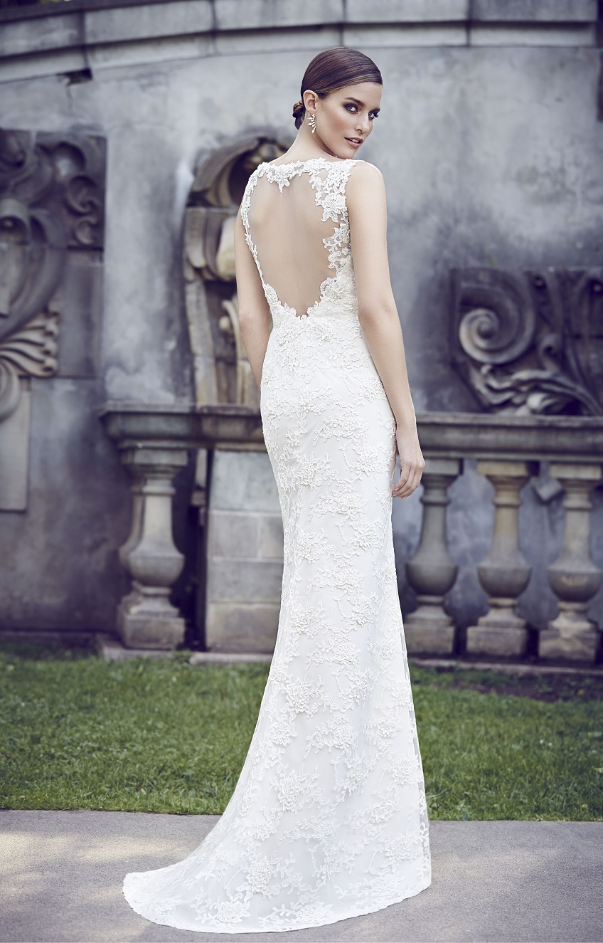 Lace Wedding Dress Paloma Blanca Style 4567