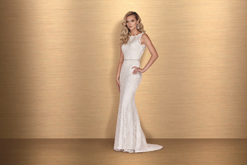 Lace Wedding Dress Paloma Blanca Style 4655