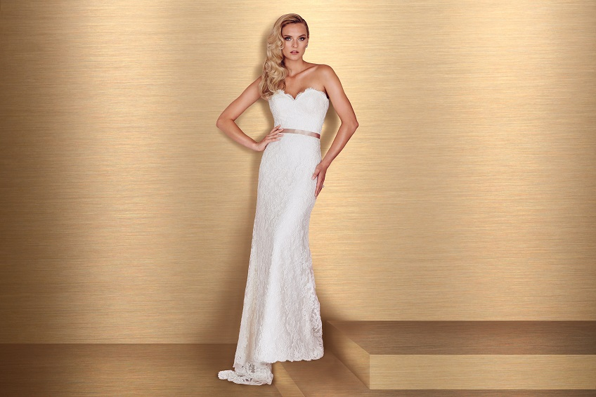 Lace Wedding Dress Paloma Blanca Style 4666