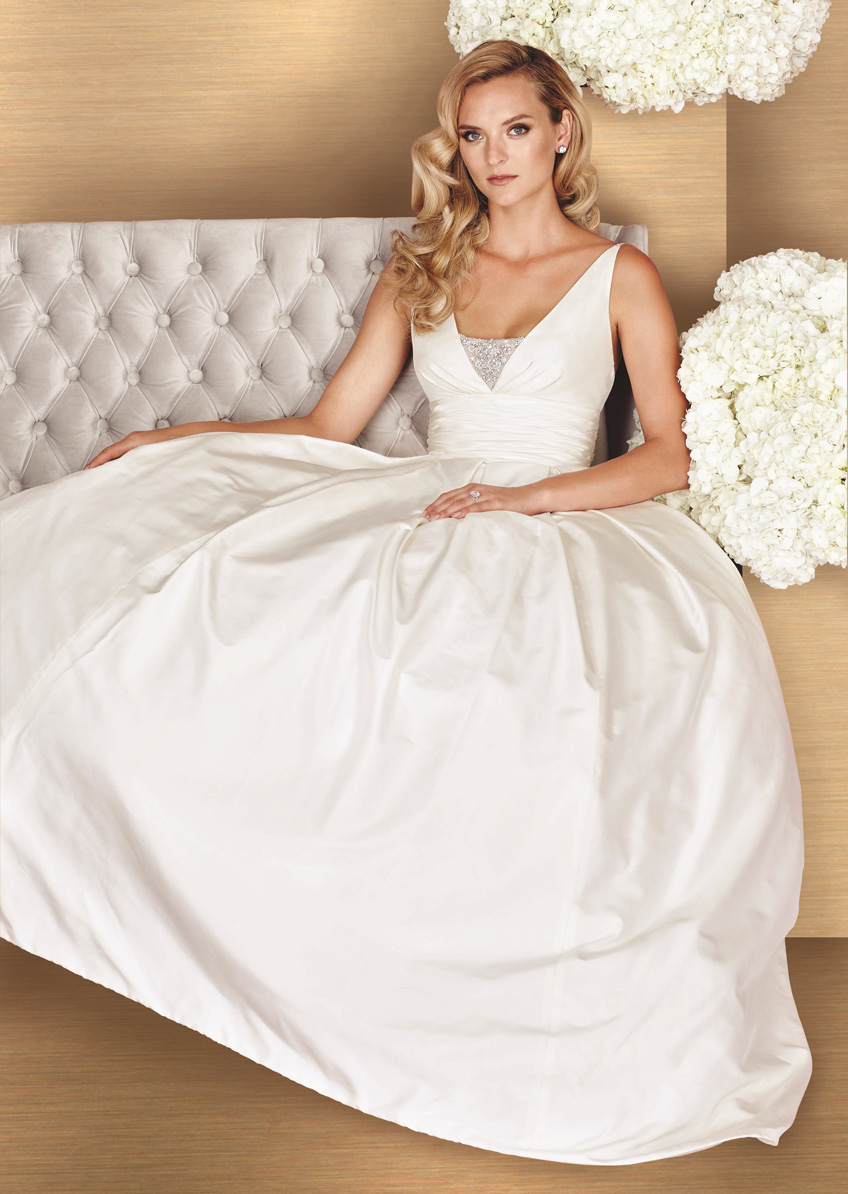 Paloma Blanca Style 4661 Bliss Bridal Boutique Event
