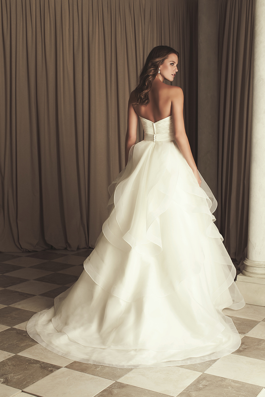 Paloma Blanca Ball Gown Wedding Dresses