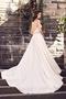 Pleated Silk Sweetheart Wedding Dress - Style #4733 | Paloma Blanca