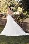 Sophisticated Chiffon Train Wedding Dress - Style #4741 | Paloma Blanca