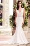 Contrasting Lace Wedding Dress - Style #4747   Paloma Blanca